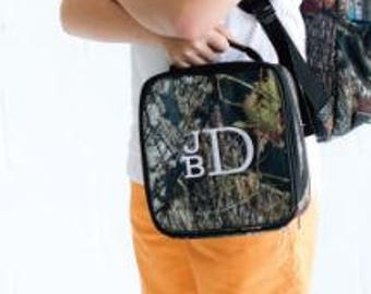 Personalized Camo Woods Lunch Box
