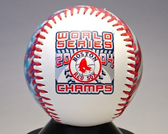 World Series Souvenir Baseball, Boston Red Sox, 2004 World Champs, Sports Collectible