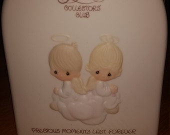 Precious Moments Collector's Club Membership Plaque Precious Moments Last Forever