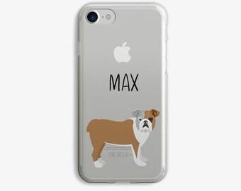 Bulldog iPhone 8 Case Bulldog Mommy iPhone 7 Case Personalized Bulldog iPhone X Case Dog iPhone Case Bulldog Gift Bulldog Name