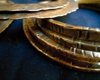 5 copper bangles