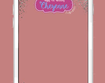 Shimmer and Shine Snapchat Geofilter