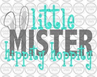 Little Mister Hippity Hoppity svg png eps pdf jpg dxf