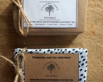Tea Tree and Charcoal Cold Processed Soap