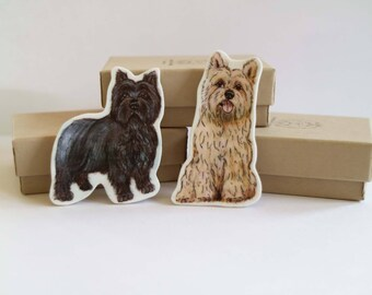 Cairn Terrier Brooch