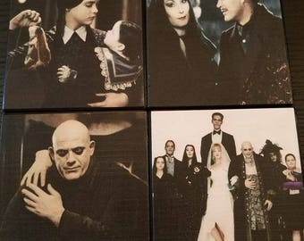 Addams Family Coasters