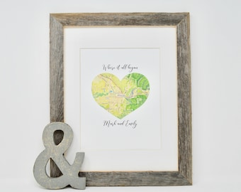 Gift for Bride on wedding day, Wedding Gift for Groom, Engagement gifts for Couple, Anniversary Gift for Parents, Romantic Gift, Sentimental