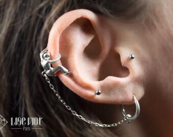 The ear climber - Silver