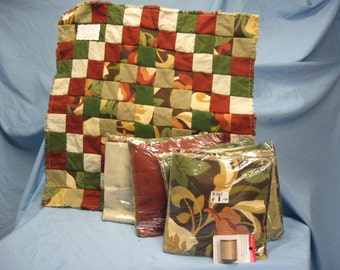 Queen Rag Quilt Kit