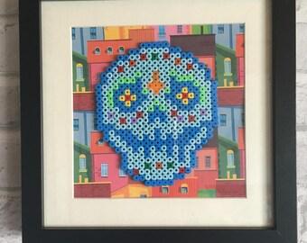 Mexican skull Dia de los Muertos