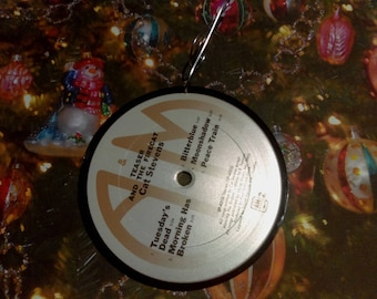 CAT STEVENS Teaser and the Firecat (1971) Ornament Vinyl Record Album Upcycled Recycled Christmas