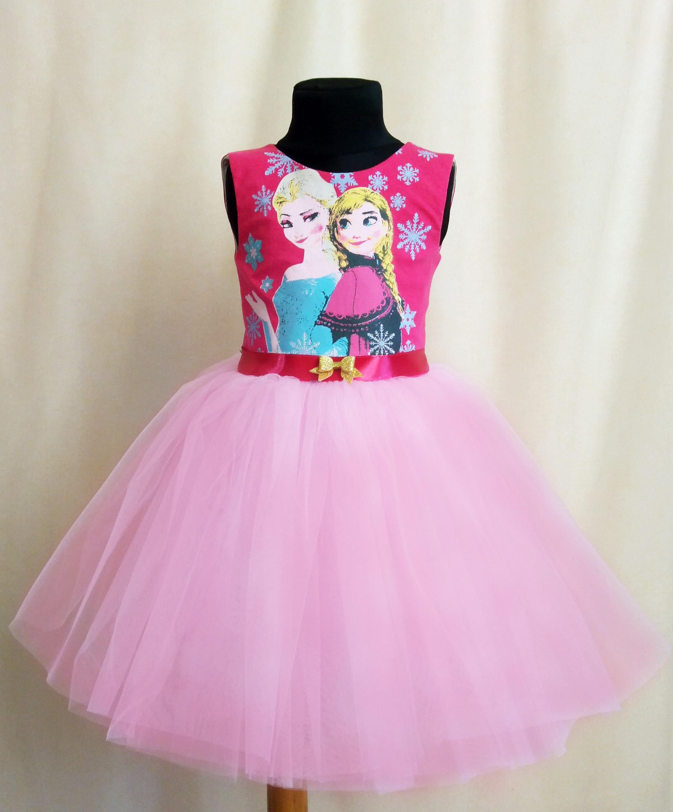 Gefrorene Tutu Geburtstag Kleid gefrorene Tüll Partykleid