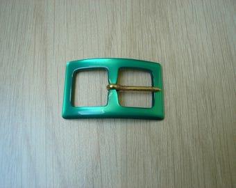 Green Pearl belt buckles