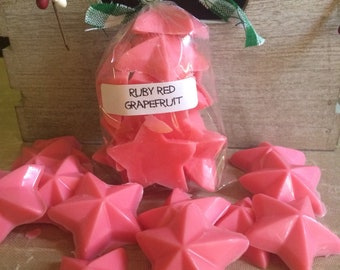 Ruby Red Grapefruit scented wax melts:-)