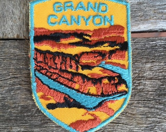 Grand Canyon Vintage Souvenir Travel Patch from Voyager - LAST ONE!