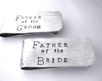 Father of the Bride Money Clip, Father of the Groom Money Clip, Groomsmen Money Clip, Wedding Money Clip