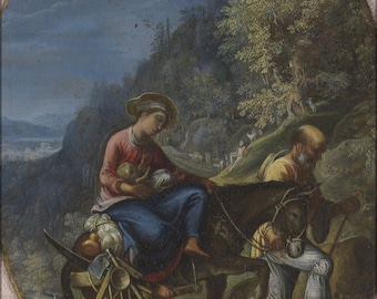 Poster, Many Sizes Available; Adam Elsheimer The Flight Into Egypt