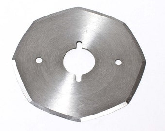 "70MM (3"") Octagonal (8 side) Replacement Blade for Heavy Duty WD2 ELECTRIC Style Rotary Cutter"