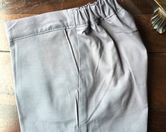 Cotton Ring Bearer SHORTS. Wedding Outfit for Ringbearer
