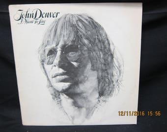 John Denver I Want to Live - RCA Victor 1971