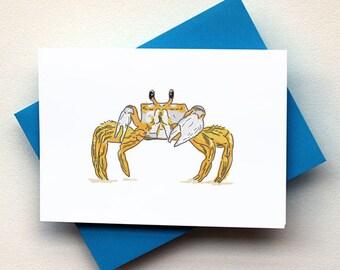 Beach Crab Card