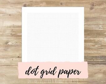 Dot Grid Bullet Journal Paper