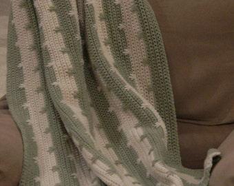 Crochet Blanket - 4' x 5'
