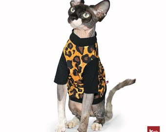 Cat clothes Sphynx Cat cloting Polocats | CHEETAH!