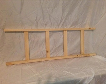 Primitive Pine Wood Ladder 36""