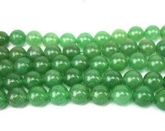5 8 MM natural aventurine beads