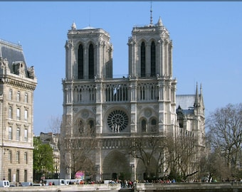 Poster, Many Sizes Available; Notre Dame Cathedral