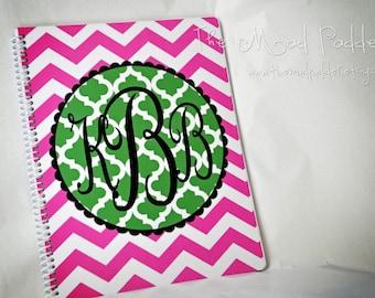 Monogram Spiral Notebook - Custom Made