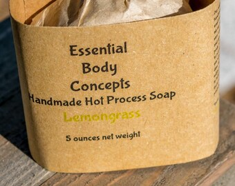Lemongrass Soap 5 oz