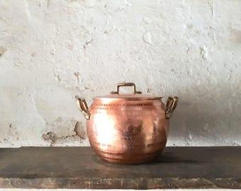 cookware for grandma, metallic pot, gift for mum, rose gold pots, 1mm, Copper pot set, cookware ideas