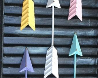 Wall Arrow /Metal Wall Arrow / Arrow Wall Decoration / Arrow Decor / Nursery Decor /Modern /Trendy /Tribal Wall Decor / Gallery Wall