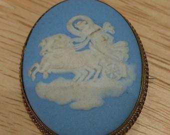 Vintage Wedgwood brooch