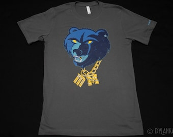 GangstaGrizz T-shirt (Asphalt)