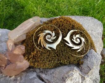 Brass earrings. Brass Earrings