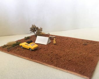 "Miniature Diorama, ""That Dingos Got My Baby"""