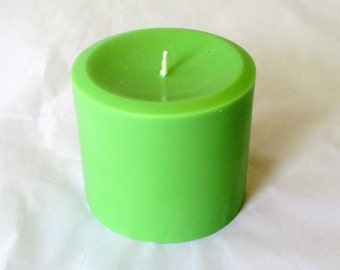 3x3 Pillar Candle, choose scent, candle centerpiece, soy pillar candle, scented soy candle, christmas candle, wedding candle