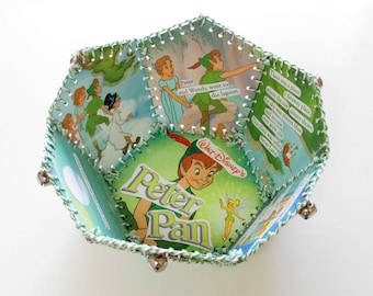 Paper Basket, Little Golden Book, Walt Disneys Peter Pan