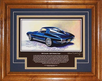 1963 Corvette with History great gift ideas for men.