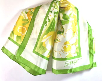 Floral Scarf - Spring Scarf - Summer Scarf - Avon Scarf - SW Kent Scarf - Gift for Her - Women's Accessories - Women's Scarves - Headwrap