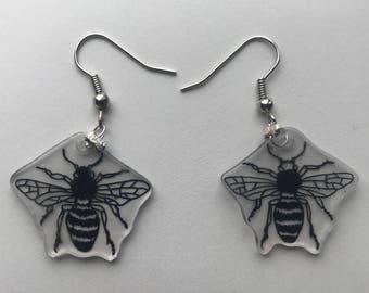 Bee Sketch Earrings