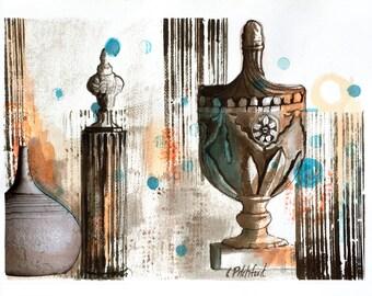 Fine art, Archival Print,  Contemporary Art, Restoration Hardware Decor, Wall Decor, Paintings