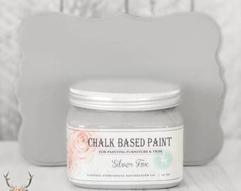 Vintage Storehouse Chalk Based Paint - Silver Fox