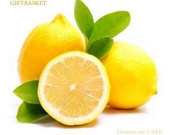 Lemon Lovers Dessert Gift Basket