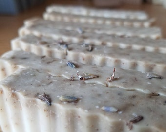 Lazy Lavender: All Natural Handmade Shea Butter Soap