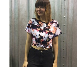 SALE Floral tie front crop top Supayana Ready to Ship!