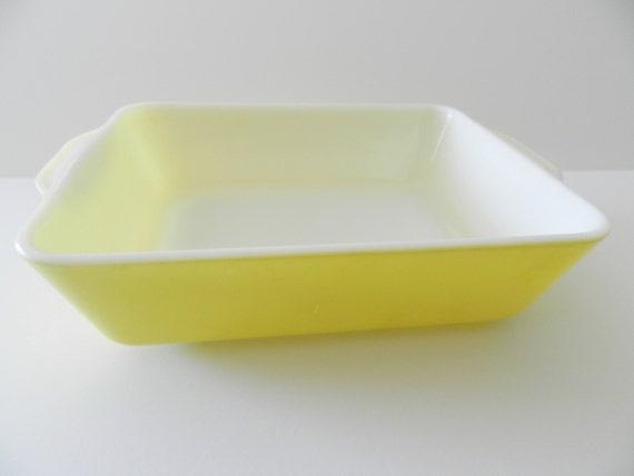 Yellow Pyrex Dish Pyrex Rectangle Dish Pyrex Baking Dish